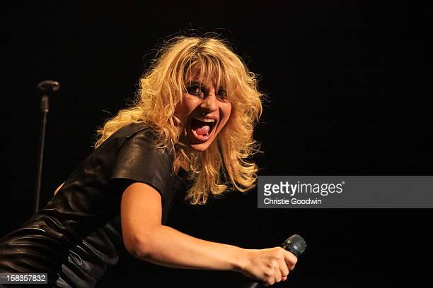 Amandine Bourgeois performs on stage at the Royal Albert Hall on October 16 2012 in London United Kingdom