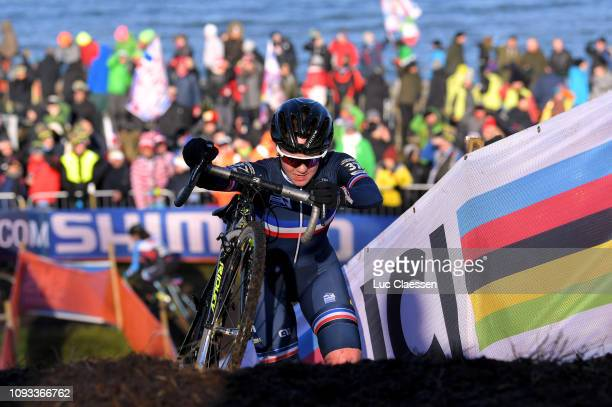 Amandine Fouquenet of France and Team France / during the 70th Cyclo-cross World Championships Bogense 2019, Women Under 23 / Cross Denmark /...