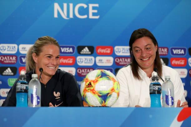 FRA: France Press Conference - FIFA Women's World Cup