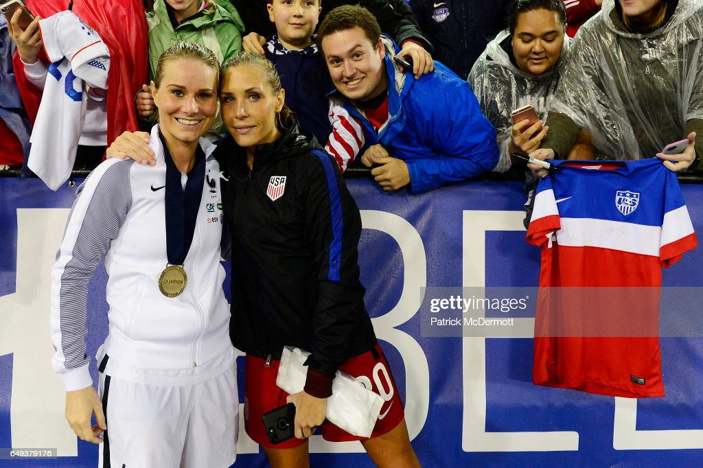 2017 SheBelieves Cup - United States v France
