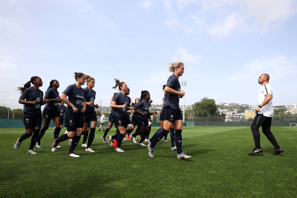 FRA: France Training Session - FIFA Women's World Cup
