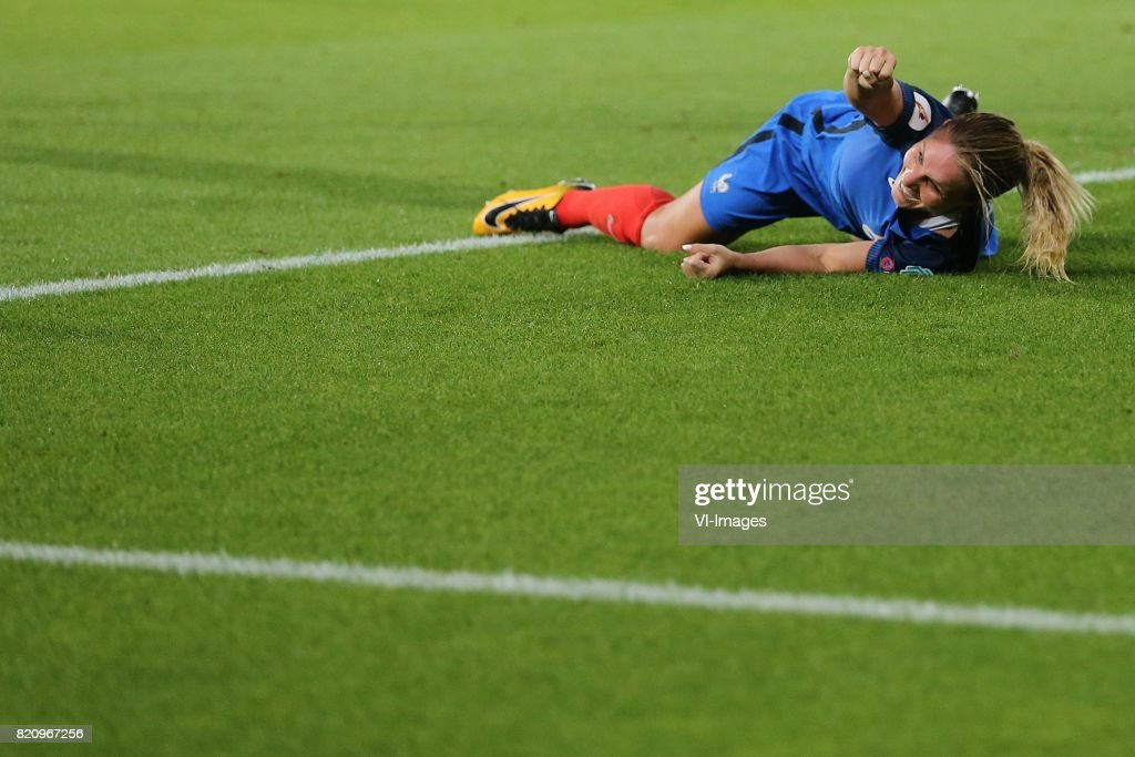 Amandine Henry of France women during the UEFA WEURO 2017 Group C group stage match between France and Austria at the Galgenwaard Stadium on July 22, 2017 in Utrecht, The Netherlands