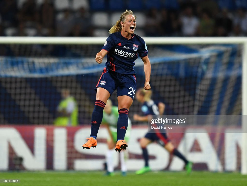 VfL Wolfsburg v Olympique Lyonnais  - UEFA Womens Champions League Final : Photo d'actualité