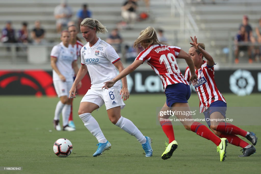 Lyon Feminines v Atletico de Madrid Femenino - 2019 Women's International Champions Cup : News Photo
