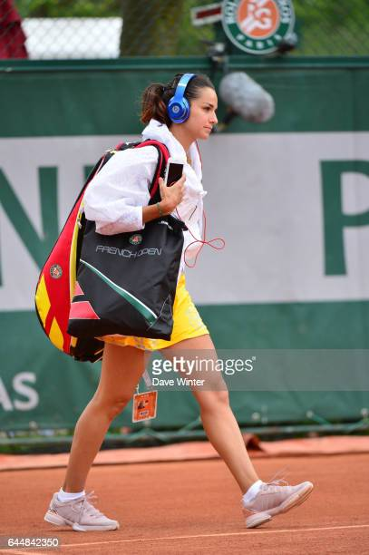 Amandine HESSE Jour 2 Roland Garros 2015 Photo Dave Winter / Icon Sport