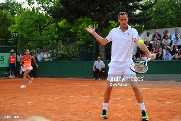 Amandine HESSE / Michael LLODRA Roland Garros 2012 Photo Dave Winter / Icon Sport