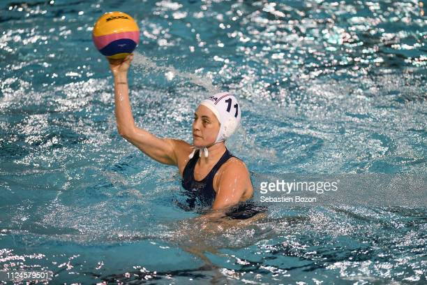 Amandine Paillat of France during the Women's International Match Water Polo match between France and Italy on February 12 2019 in Mulhouse France