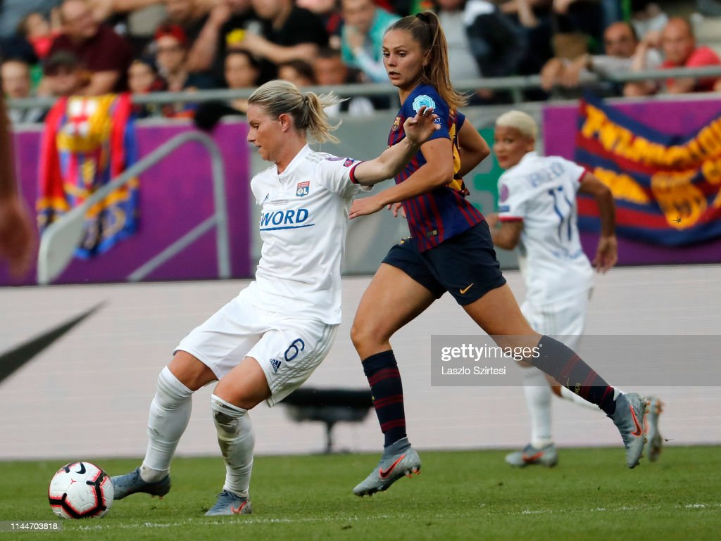 Olympique Lyonnais v FC Barcelona - UEFA Women's Champions League Final : News Photo
