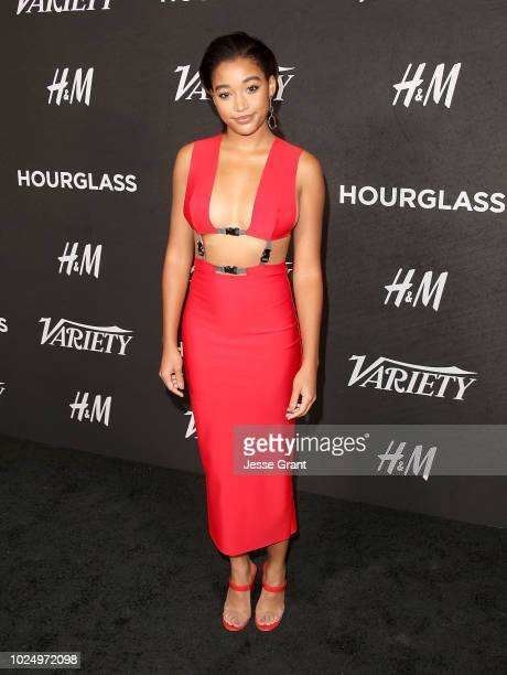 Amandla Stenberg attends Variety's Power of Young Hollywood event at the Sunset Tower Hotel on August 28 2018 in West Hollywood California