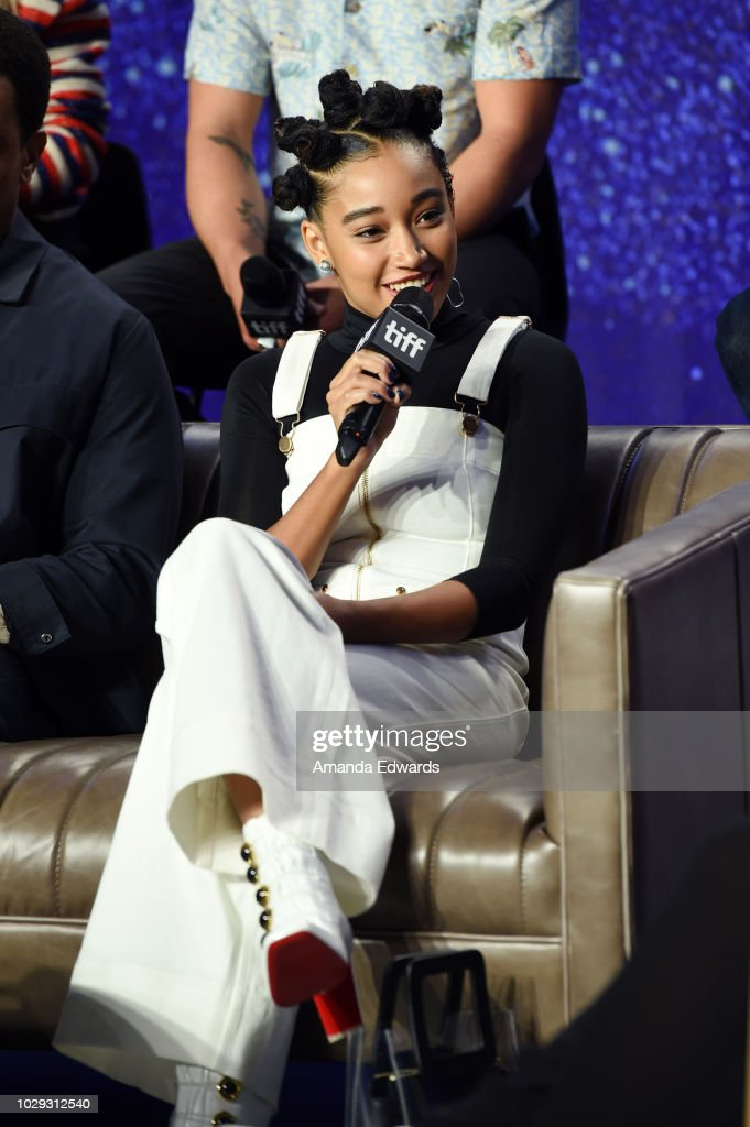 "2018 Toronto International Film Festival - ""The Hate U Give"" Press Conference : News Photo"