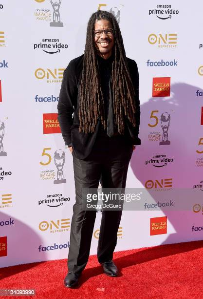 Amani K Smith arrives at the 50th NAACP Image Awards at Dolby Theatre on March 30 2019 in Hollywood California