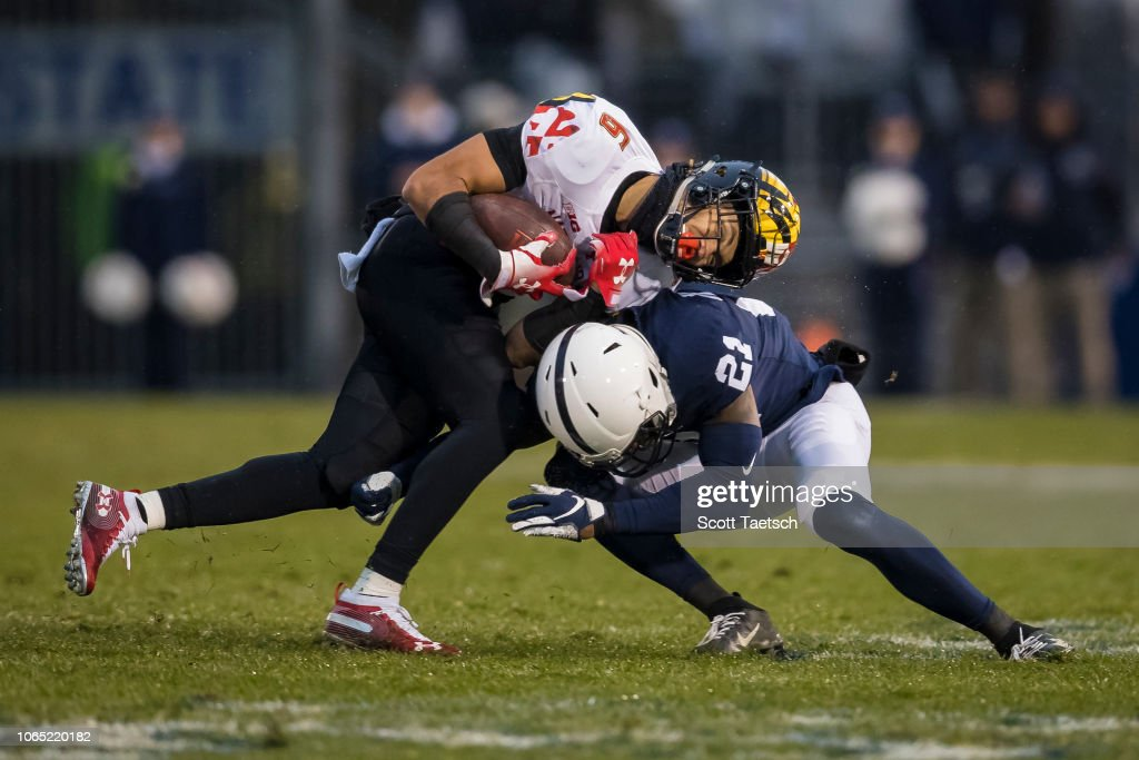 Maryland v Penn State : News Photo