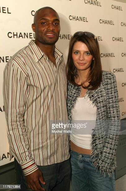Amani Toomer and Mischa Barton during Hotel Gansevoort on The Rooftop and Chanel Presents Allure Homme Sport Cologne Party at Hotel Gansevoort in New...