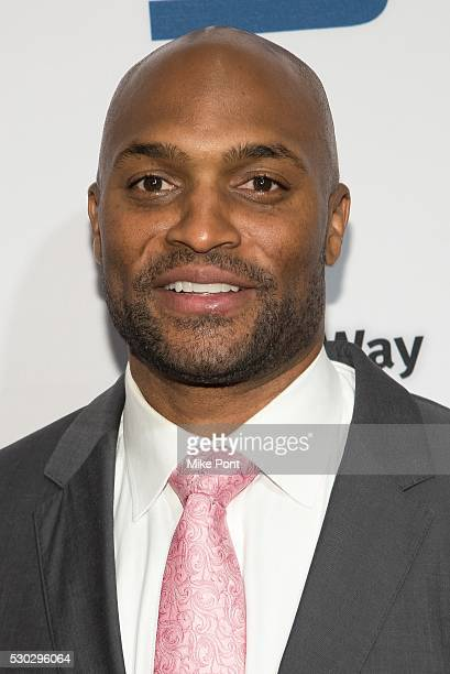 Amani Toomer attends the 23rd Annual United Way Of New York City Gridiron Gala at the New York Hilton Midtown on May 10 2016 in New York New York