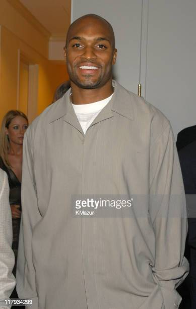Amani Toomer of the NY Giants during New York Sports Night at the Esquire Apartment at The Esquire Apartment in New York City New York United States