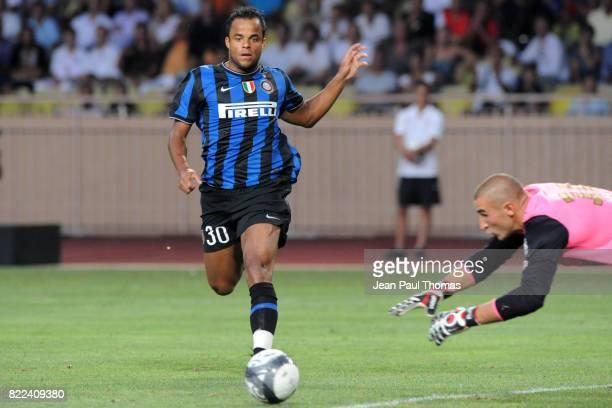 Amantino MANCINI Monaco / Inter Milan Match Amical Stade Louis II