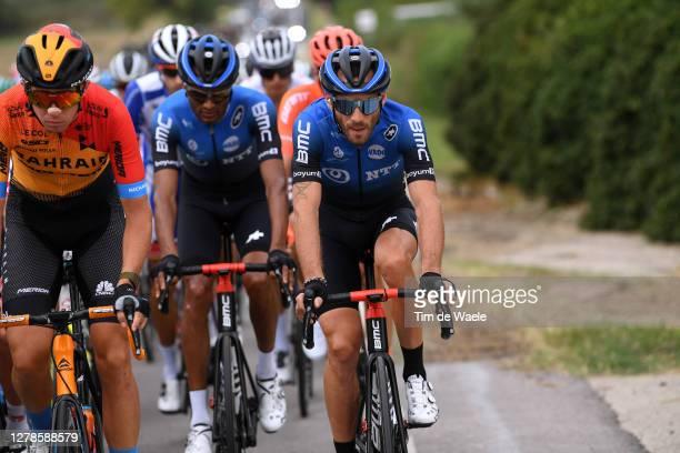 Amanuel Ghebreigzabhier Werkilul of Eritrea and NTT Pro Cycling Team / Danilo Wyss of Switzerland and NTT Pro Cycling Team / during the 103rd Giro...