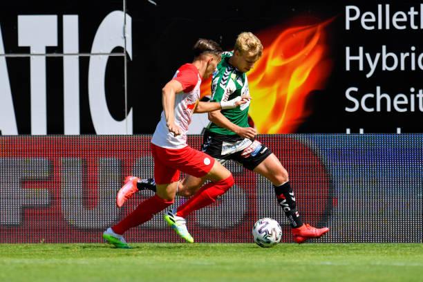 AUT: SV Guntamatic Ried v FC Liefering - 2. Liga