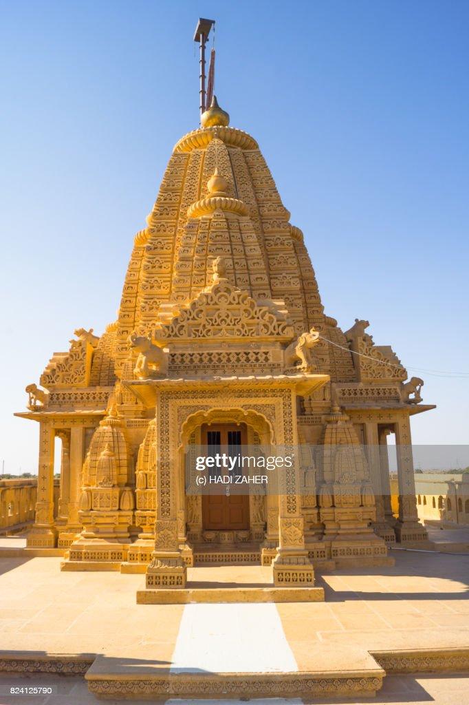 Amar Sagar Jain Temple | Jaisalmer | Rajasthan | India : Stock Photo