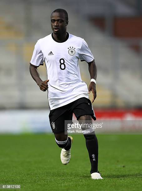 Amara Conde of Germany U20 during the U20 International Friendly match between Germany and Netherlands on October 10 2016 in Leigh Greater Manchester
