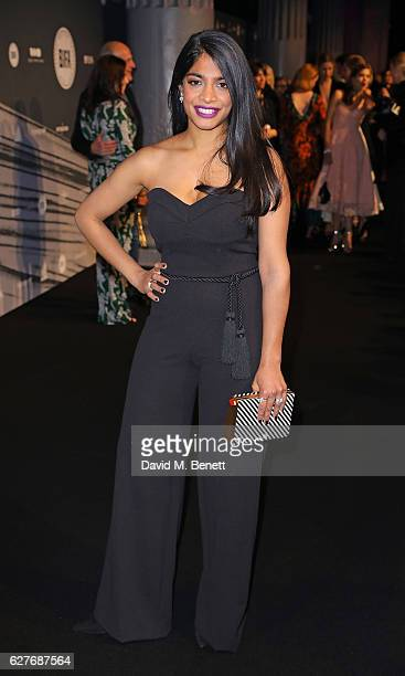Amara Karan attends at The British Independent Film Awards Old Billingsgate Market on December 4 2016 in London England