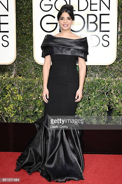 Amara Karan attends the 74th Annual Golden Globe Awards Arrivals at The Beverly Hilton Hotel on January 8 2017 in Beverly Hills California