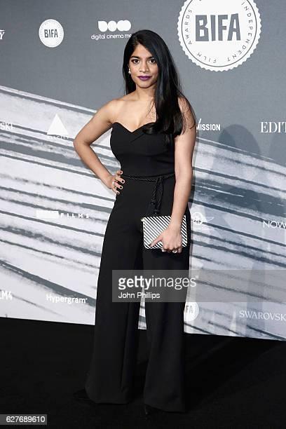 Amara Karan attends The British Independent Film Awards at Old Billingsgate Market on December 4 2016 in London England