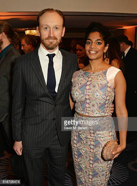 Amara Karan attends the Jameson Empire Awards 2016 at The Grosvenor House Hotel on March 20 2016 in London England