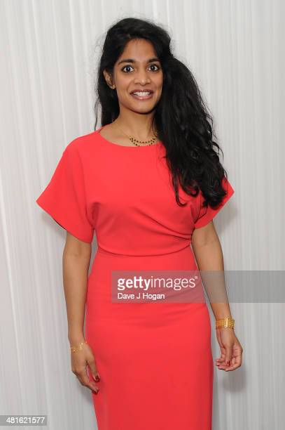 Amara Karan attends the Jameson Empire Film Awards 2014 at The Grosvenor House Hotel on March 30 2014 in London England