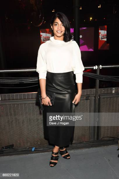 Amara Karan attends the THREE Empire awards at The Roundhouse on March 19 2017 in London England
