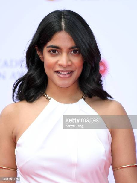 Amara Karan attends the Virgin TV BAFTA Television Awards at The Royal Festival Hall on May 14 2017 in London England