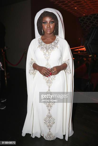 Amara La Negra attend the 2018 Global Spin Awards at The Novo by Microsoft on February 15 2018 in Los Angeles California