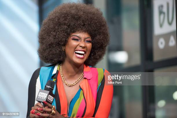 Amara La Negra visits Build Series to discuss 'Love and Hip Hop Miami' at Build Studio on February 7 2018 in New York City
