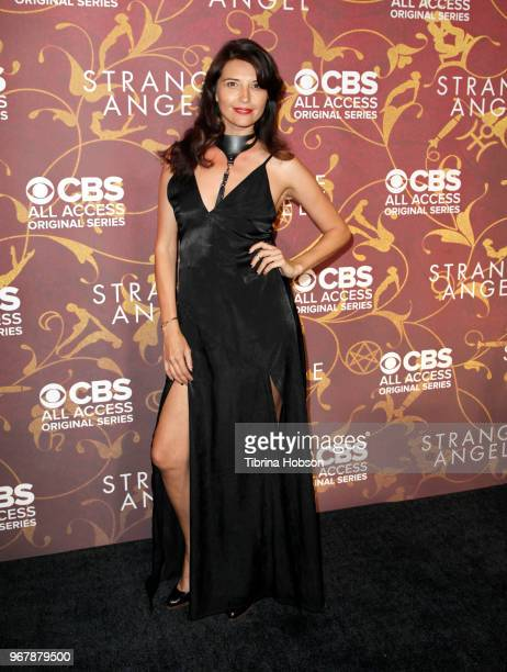 Amara Zaragoza attends the premiere of 'Strange Angel' at Avalon on June 4 2018 in Hollywood California