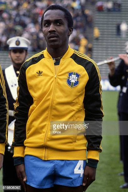 Amaral during the match between Brazil and Sweden played at Mar Del Plata Argentina on June 3rd 1978