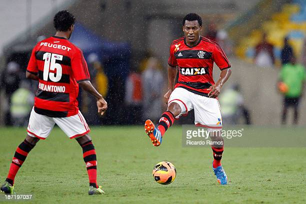 Amaral of Flamengo in action during the match between Flamengo and Goias for the Brazilian Cup 2013 at Maracana on November 6 2013 in Rio de Janeiro...
