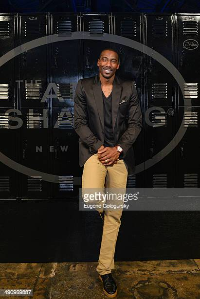 Amar'e Stoudemire attends The Art Of Shaving Launch of the Lexington Collection With Amar'e Stoudemire at Cedar Lake on May 15 2014 in New York City