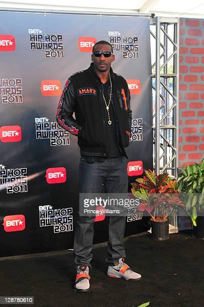 Amar'e Stoudemire attends the BET Hip Hop Awards 2011 at the Boisfeuillet Jones Atlanta Civic Center on October 1 2011 in Atlanta Georgia