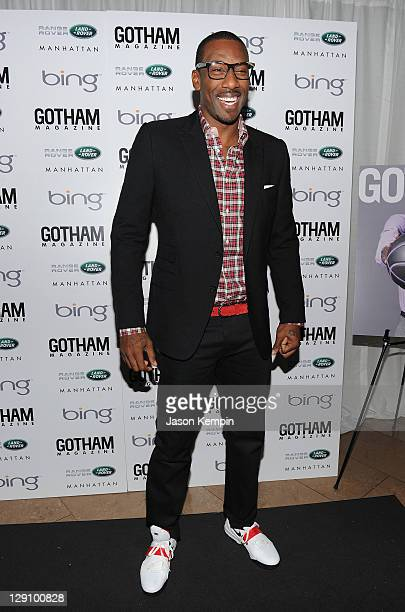Amar'e Stoudemire attends the Land Rover Manhattan And Gotham Magazine Host Launch Of 2012 Range Rover Evoque And October Issue With Amar E...