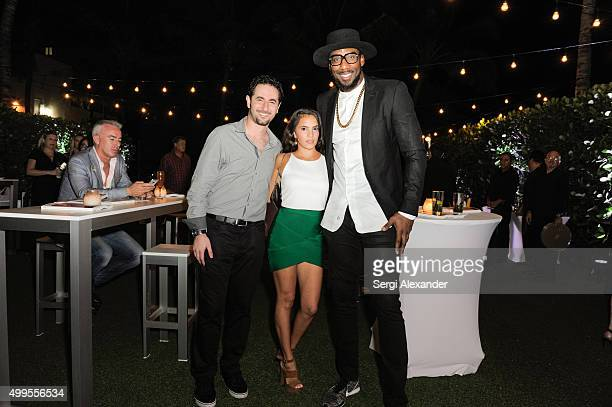 Amar'e Stoudemire attends the SURFACE Magazine and W South Beach Hotel Residences present Design Dialogues No 23 at W South Beach on December 1 2015...