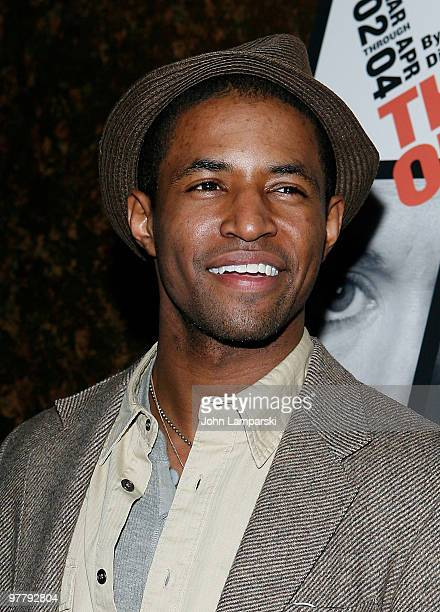 Amari Cheaton attends the opening night party for The Book Of Grace at Forum on March 16 2010 in New York City