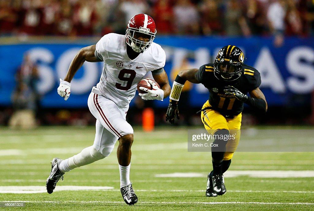 SEC Championship - Alabama v Missouri : News Photo