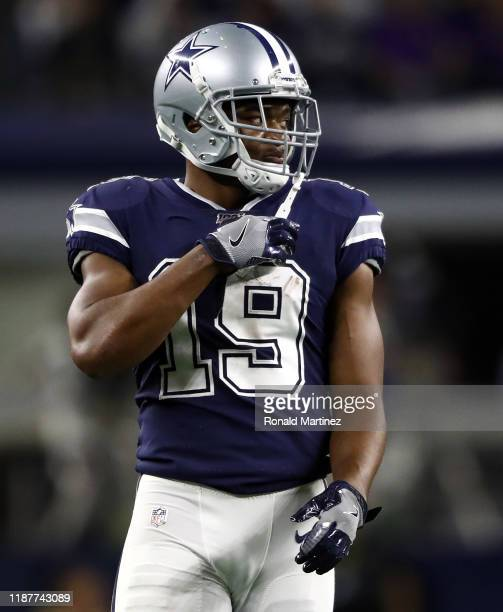 Amari Cooper of the Dallas Cowboys at AT&T Stadium on November 10, 2019 in Arlington, Texas.