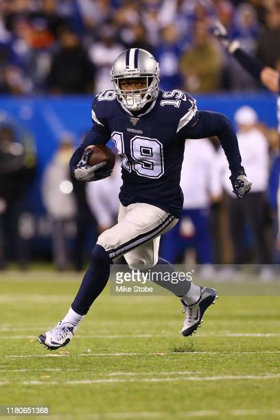 Amari Cooper of the Dallas Cowboys in action against the New York Giants at MetLife Stadium on November 04 2019 in East Rutherford New JerseyDallas...