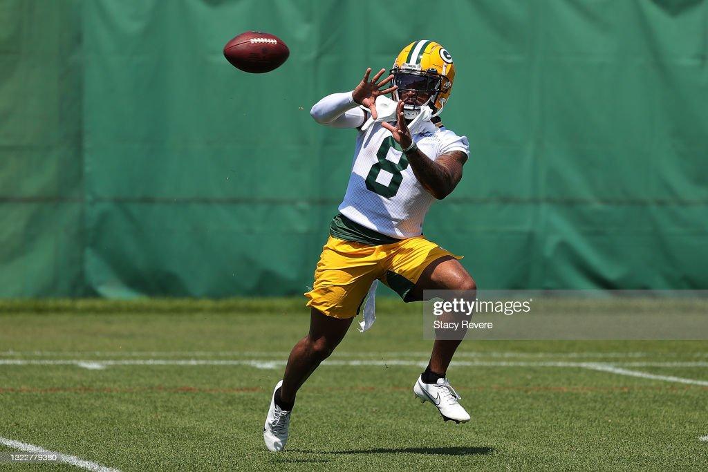 Green Bay Packers Mandatory Minicamp : Nachrichtenfoto