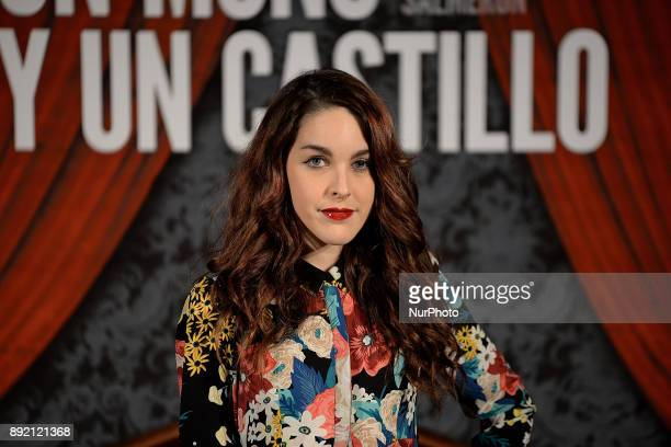 Amarna Miller attends 'Muchos hijos un mono y un castillo' premiere at Callao Cinema in Madrid on 13th December 2017