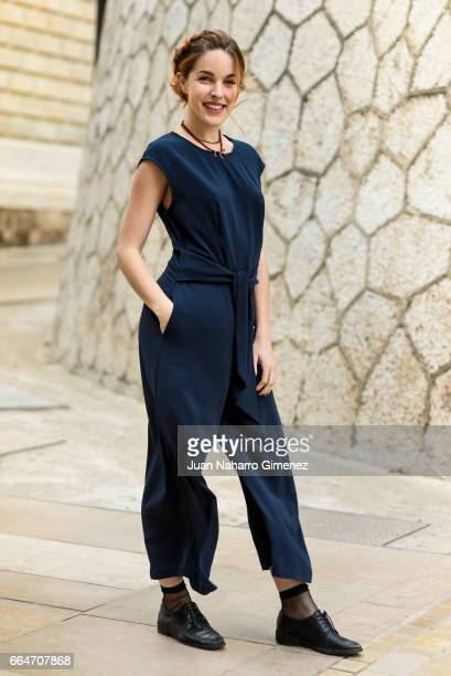 Amarna Miller poses during a portrait session during of the 20th Malaga Film Festival on March 21 2017 in Malaga Spain