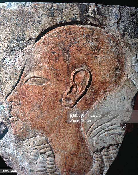 Amarna style head Ancient Egypt New Kingdom 1356 1340 BC 18th Location on request Location 72