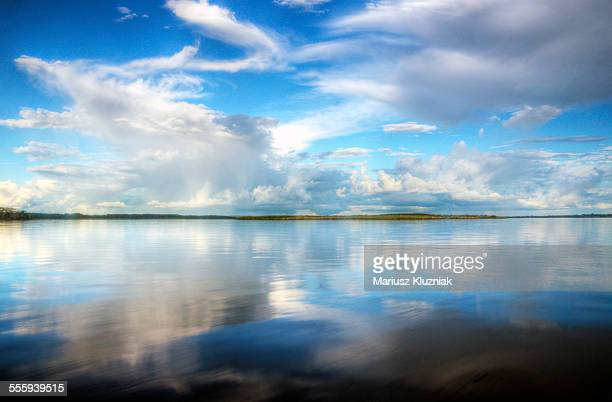Amaron river perfect sky and clouds reflections