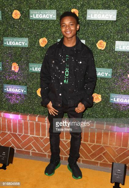 Amarr M Wooten at Debbie Reynolds Legacy Studios Grand Opening at Debbie Reynolds Legacy Studios on February 10 2018 in North Hollywood California